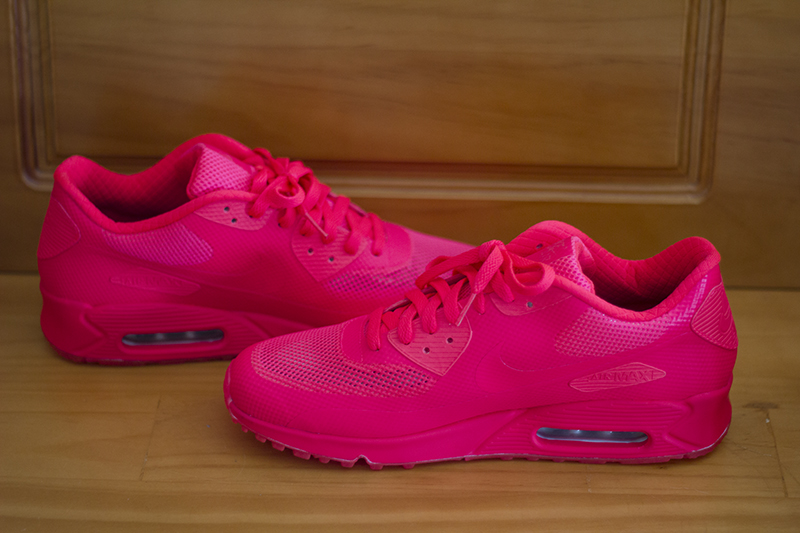 hyperfuse air max 90 solar red